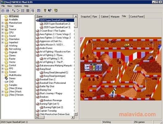Neo MAME32 Plus! 0.95