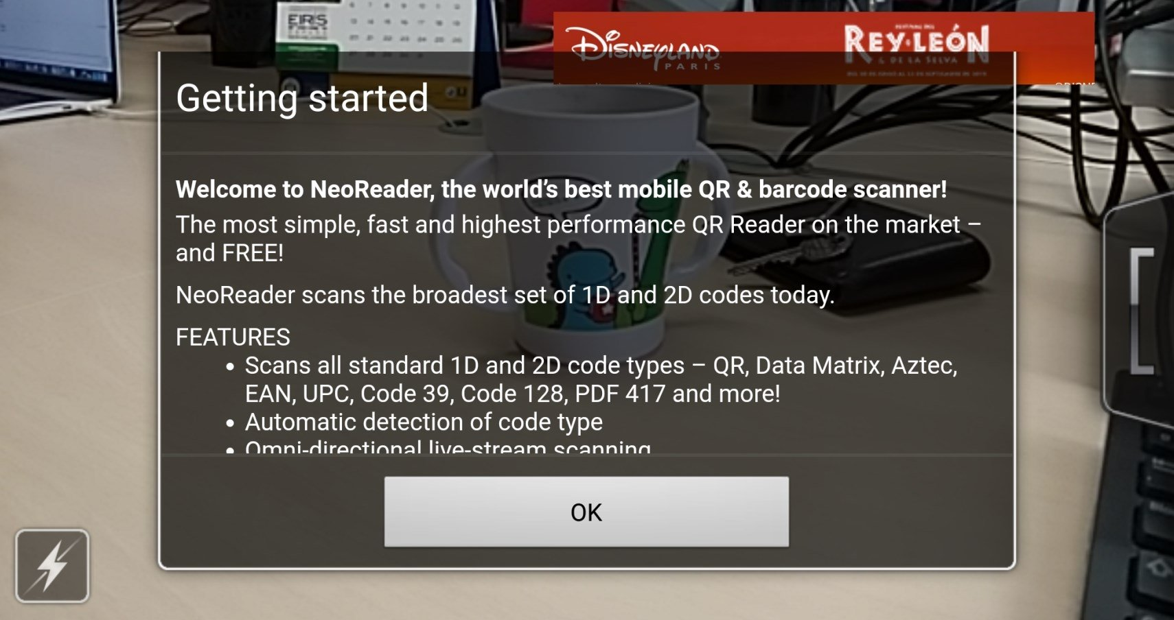 NeoReader QR 4 14 01 - Download for Android APK Free