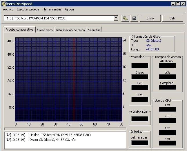 Nero DiscSpeed image 5