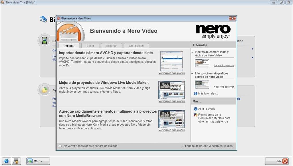 nero download gratis
