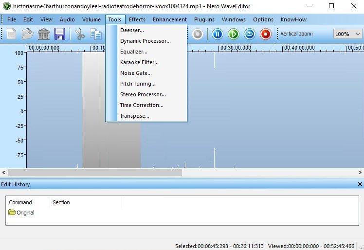 Nero WaveEditor 20 0 1002 - Download for PC Free