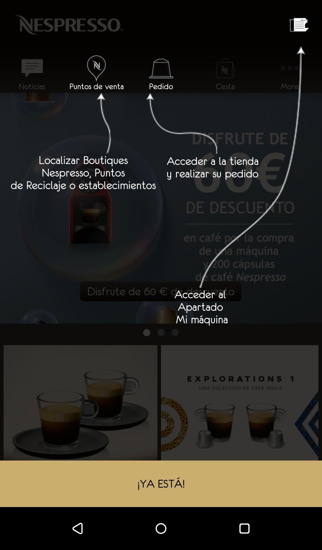 Nespresso Android image 7