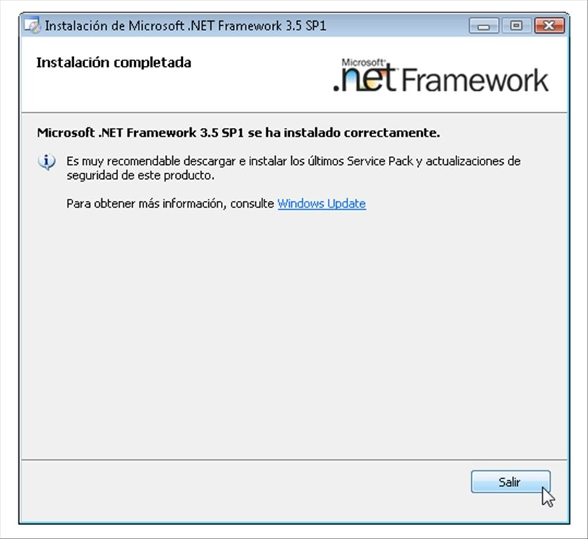 no puedo instalar net framework 3 5 en windows 10