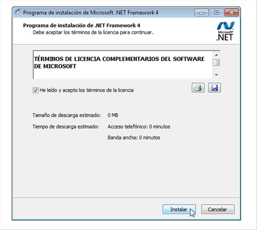 net framework 4.5 for windows xp 64 bit