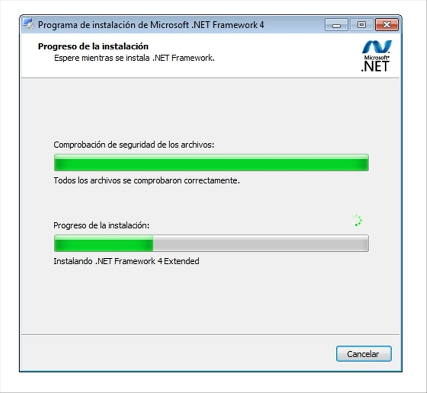 descargar net framework v4.o.30319 para windows 7