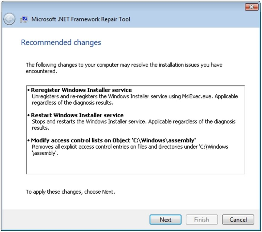 .NET Framework Repair Tool image 5
