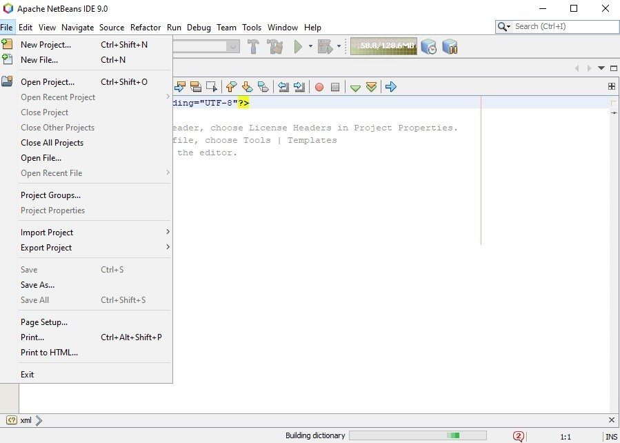 NetBeans IDE 11 0 - Download for PC Free