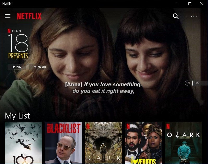 Netflix 6 93 478 0 - Download for PC Free