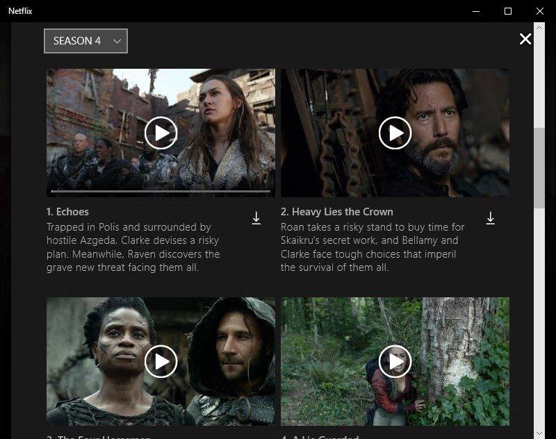 Netflix Vorschläge