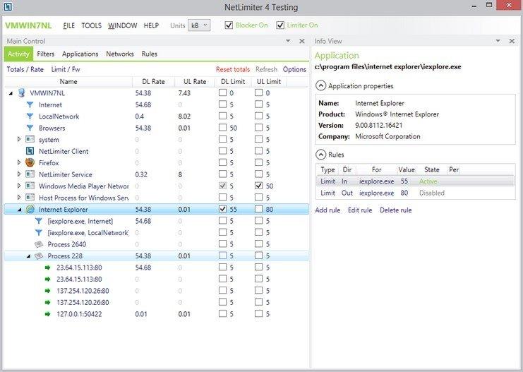 NetLimiter image 2
