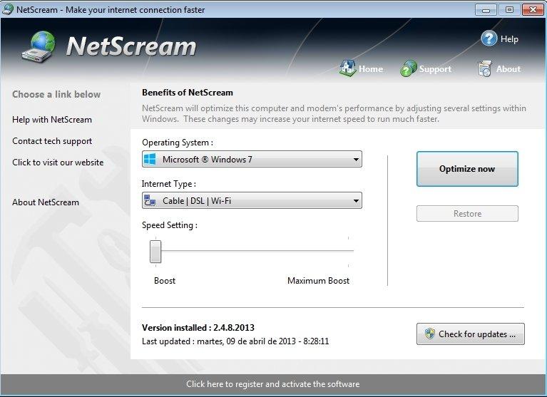 accelerateur de connexion internet gratuit