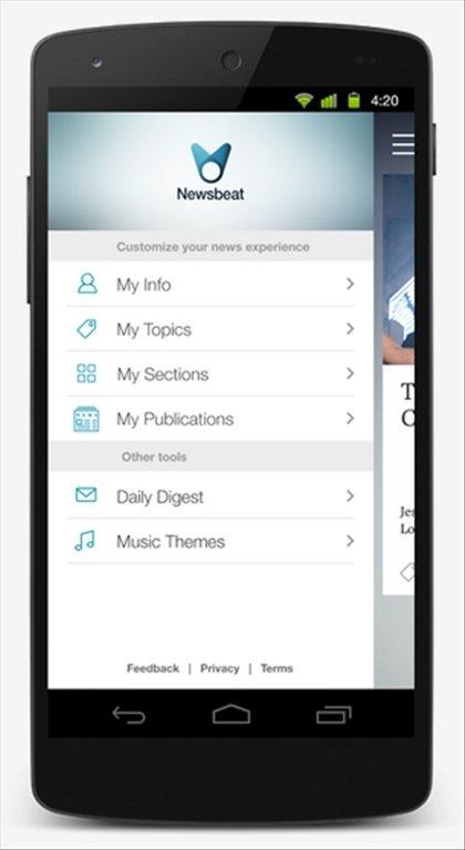 Newsbeat Android image 6
