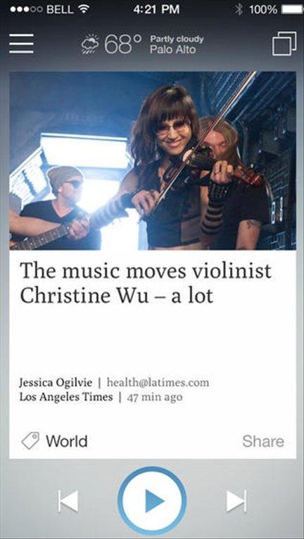 Newsbeat iPhone image 4