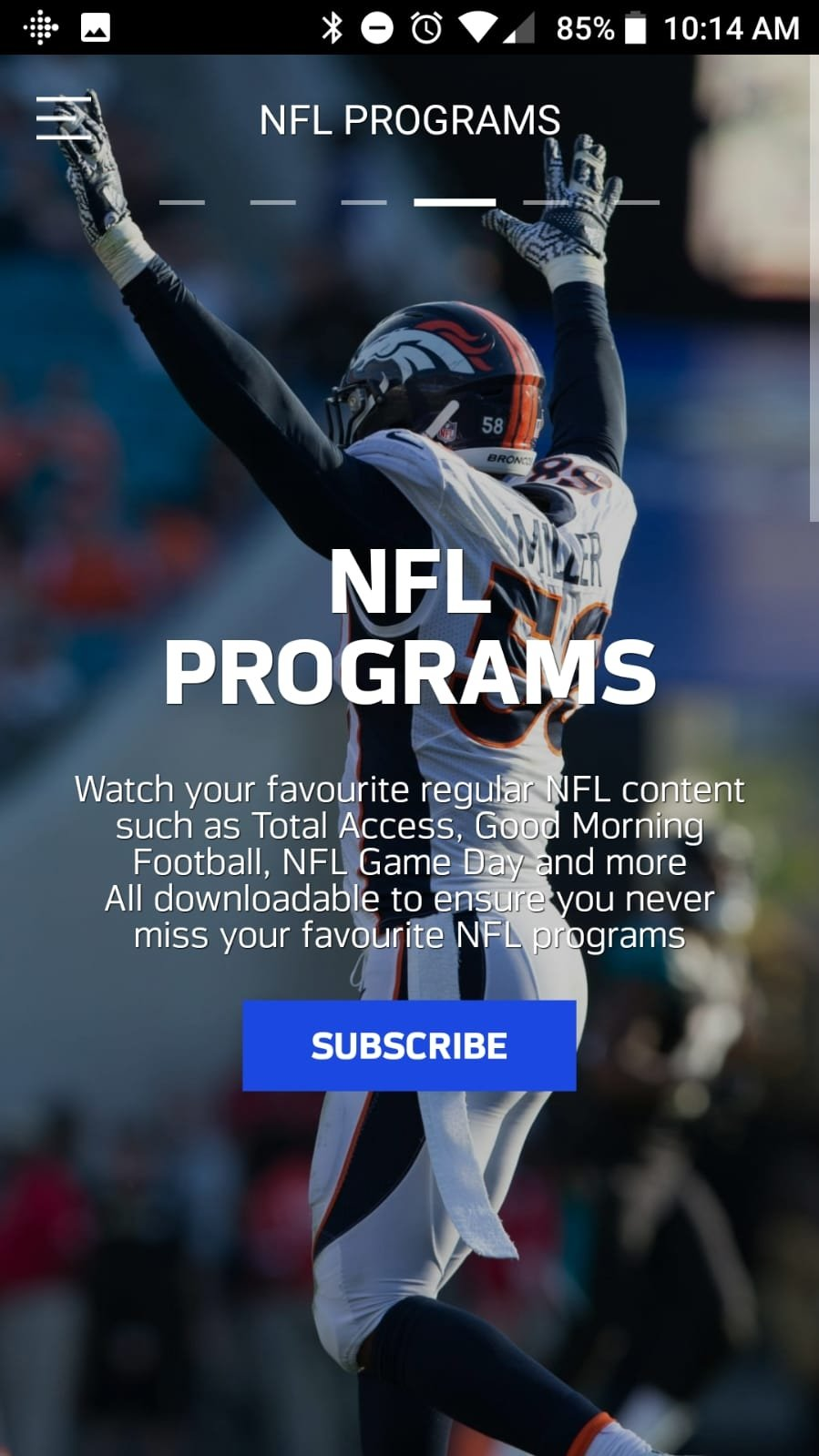 NFL Game Pass Europe 1 4 3 - Download for Android APK Free