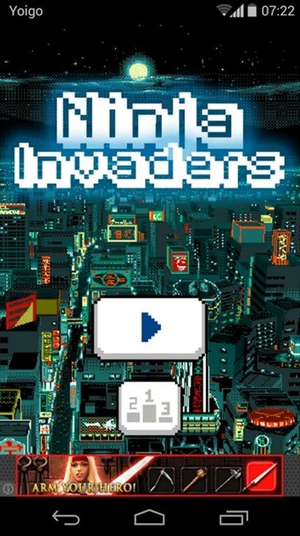 Ninja Invaders Android image 5