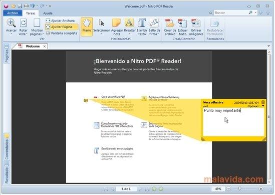 Nitro PDF Reader image 5