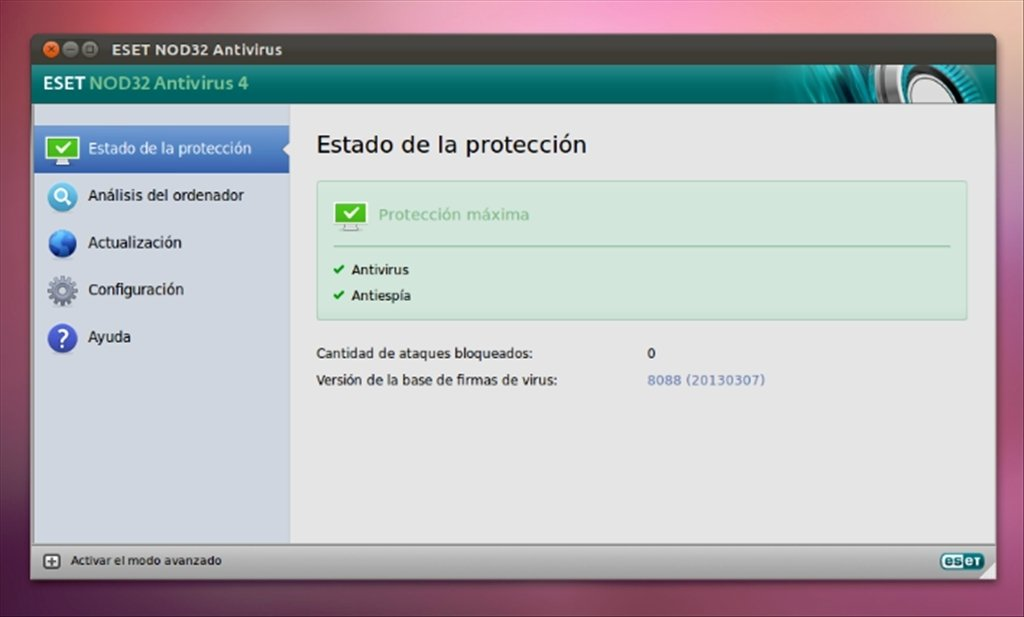 NOD32 Antivirus Linux image 7