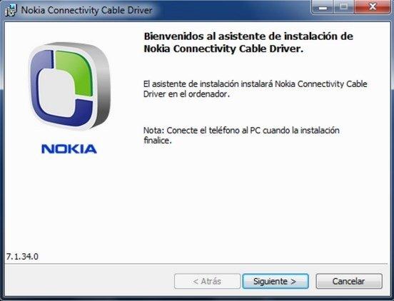 Скачать nokia cable connectivity driver.