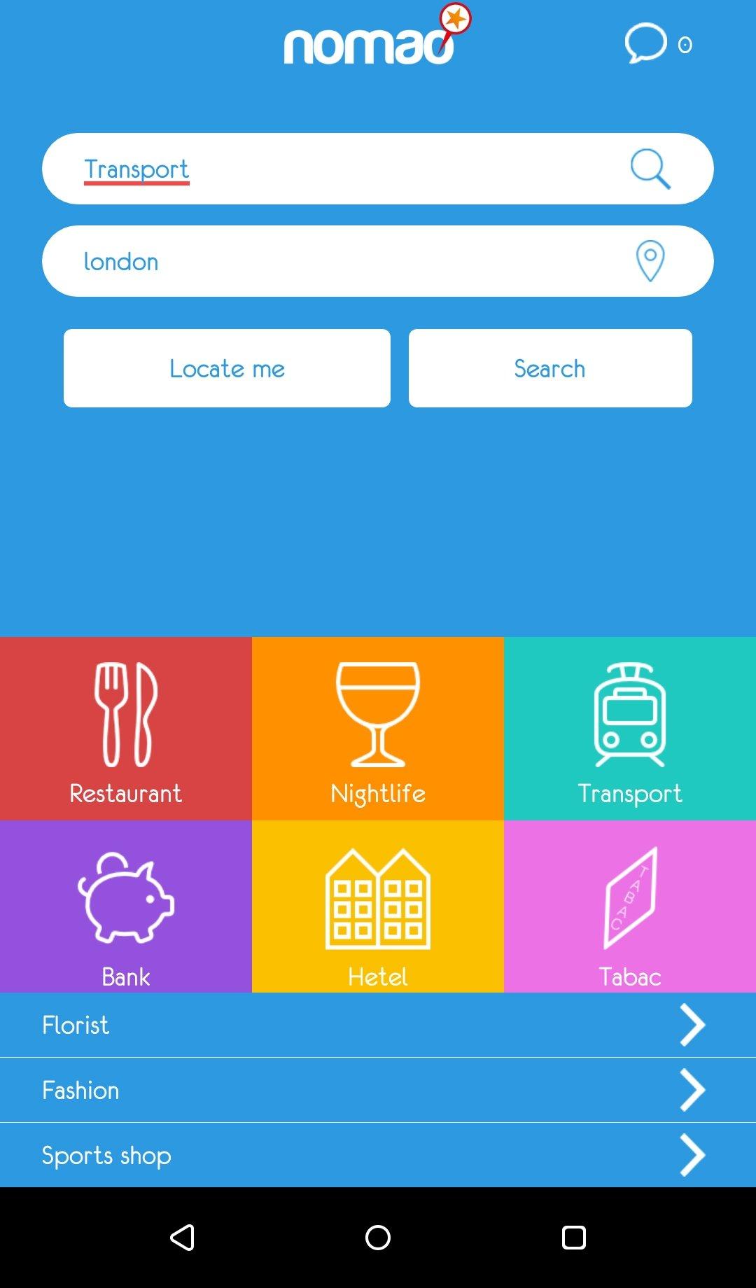 nomao gratuit pour android