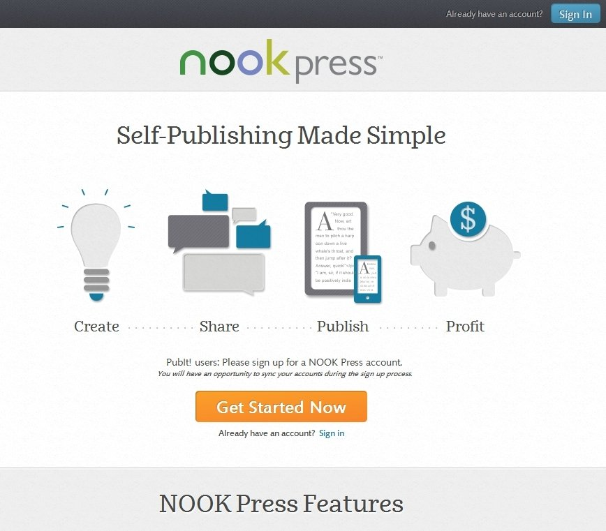 NOOK Press Webapps image 6