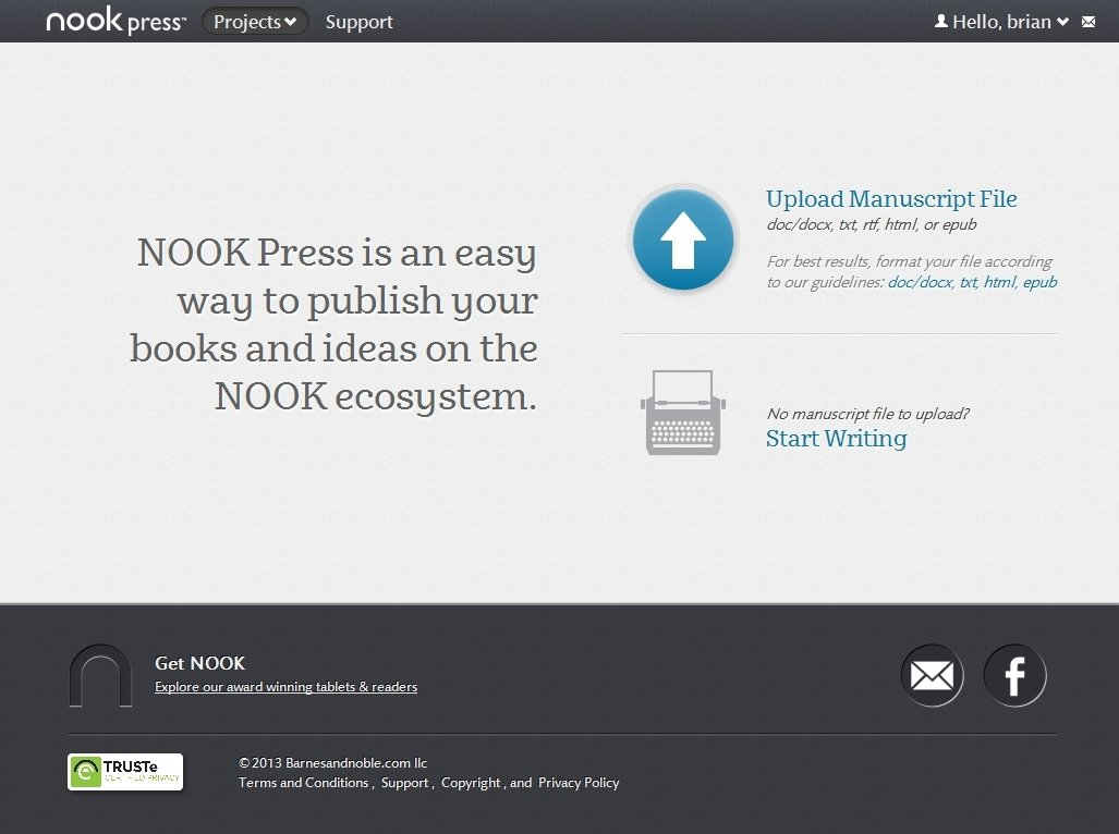 nook press Barnes & noble press™ is barnes & noble's innovative self-publishing platform where independent publishers and authors can find everything they need to publish both print and digital books for customer purchase, or print beautiful books for personal use.