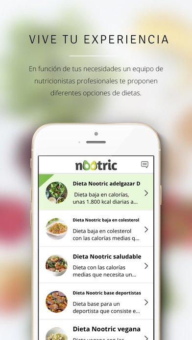 Nootric, Nutrition and weight-loss diets iPhone image 5