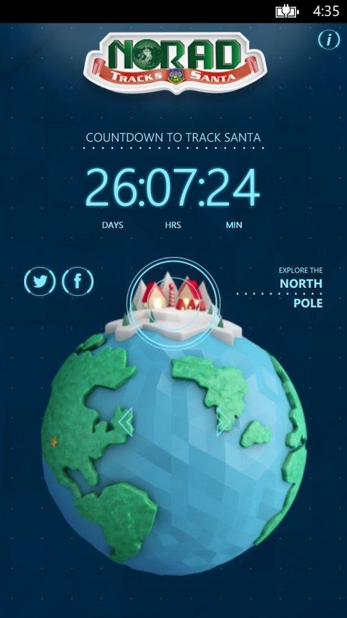 NORAD Tracks Santa Android image 3