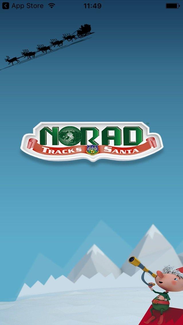 NORAD Tracks Santa iPhone image 2