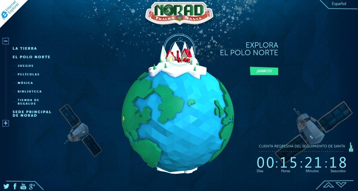 NORAD Tracks Santa Webapps image 4