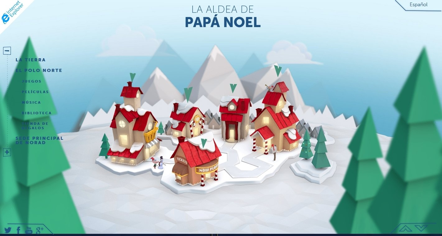 NORAD Tracks Santa Online (English) - Free