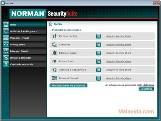 Norman Security Suite image 4