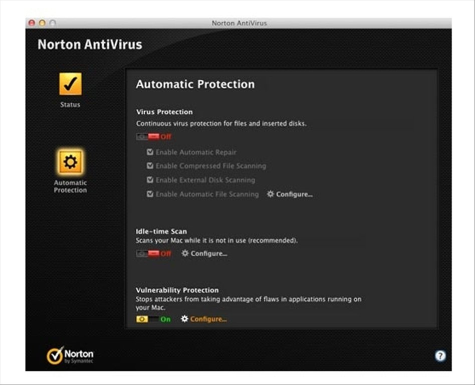 1. Norton Security for Mac