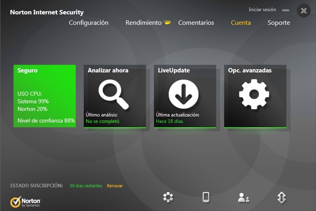 Norton Internet Security 2014 21.1.0.18