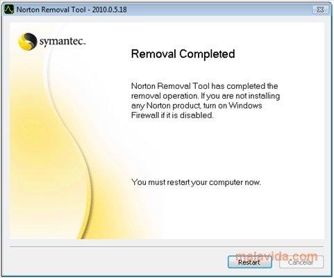 Descargar Norton Removal Tool 22 0 0 20 Gratis
