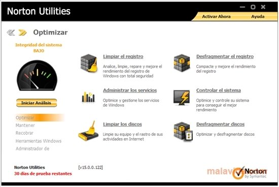 Norton Utilities 15.0.0.122
