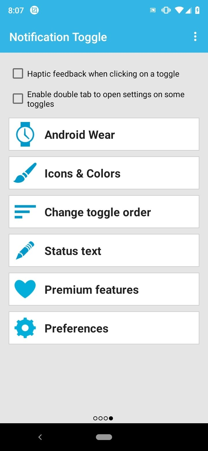Notification Toggle Android image 4