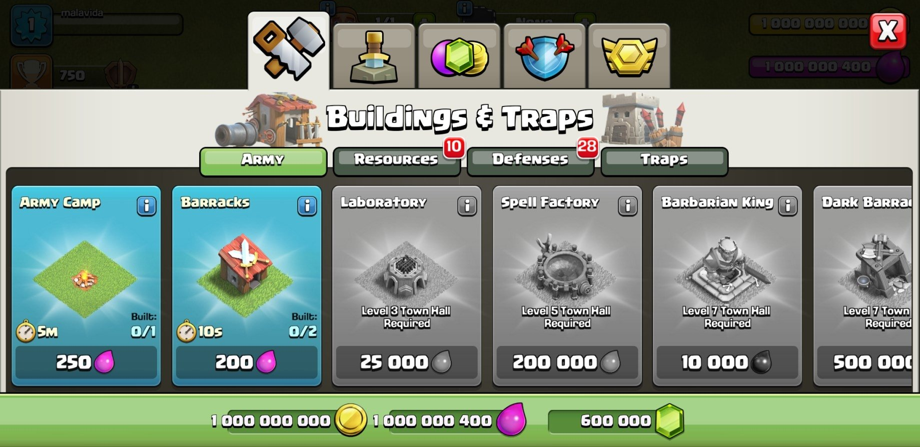 clash of clans mod apk latest version android 1