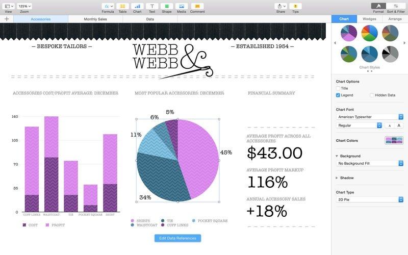 Numbers Mac image 5