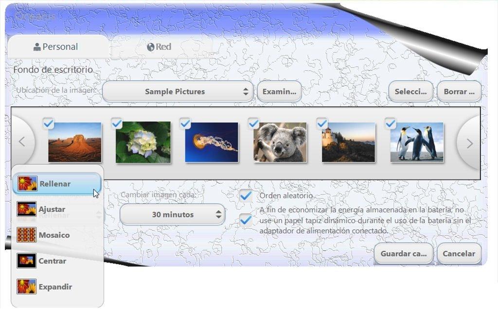 descargar oceanis change background windows 7 gratis