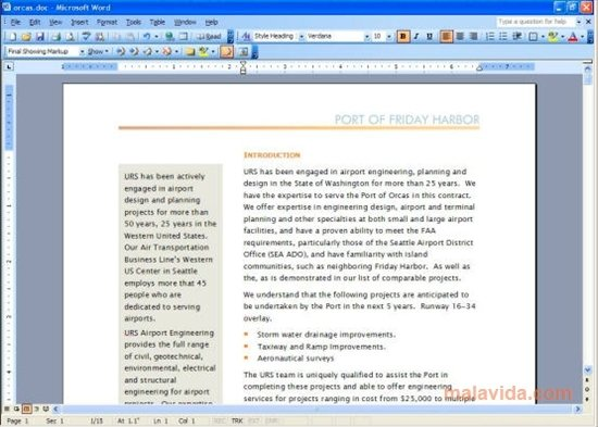 microsoft word 2003 software free download full version