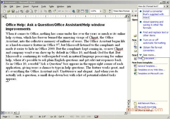 Office XP SP2 Service Pack 2 - Download for PC Free