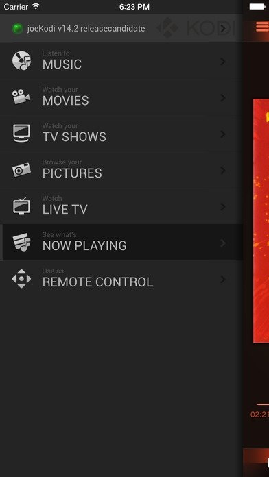 Official Kodi Remote iPhone image 5