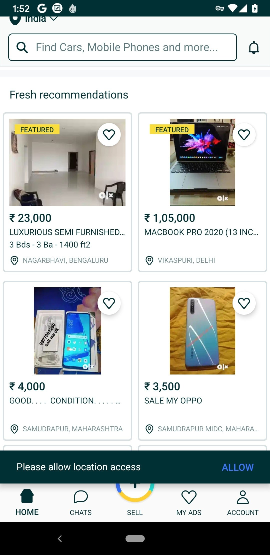 OLX Classifieds Android image 5