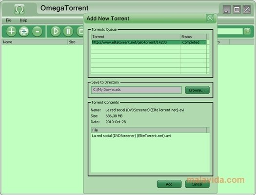 Omega Torrent 2.0 - Download for PC Free