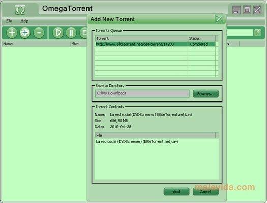 Omega Torrent 2.0
