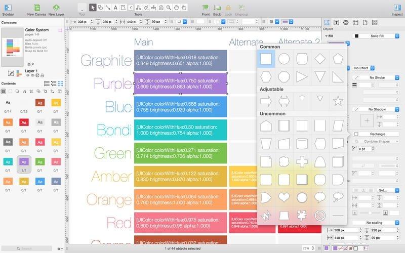 OmniGraffle Mac image 5