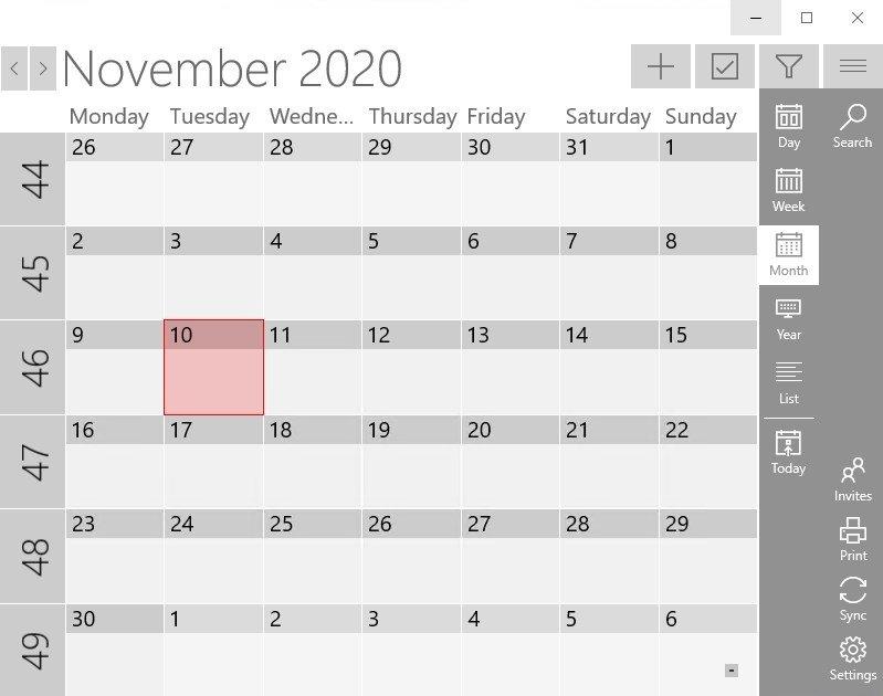 One Calendar image 8
