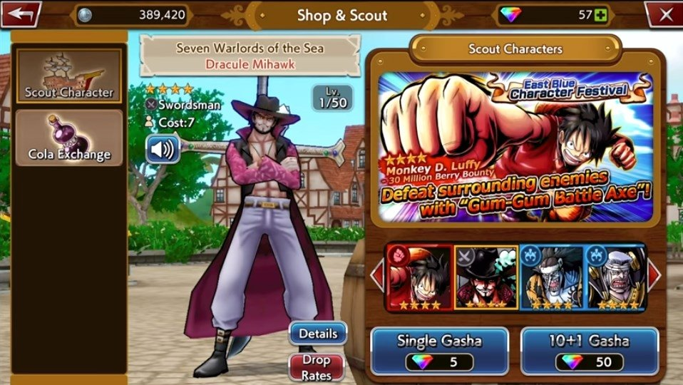 One piece: treasure cruise for android download apk free.