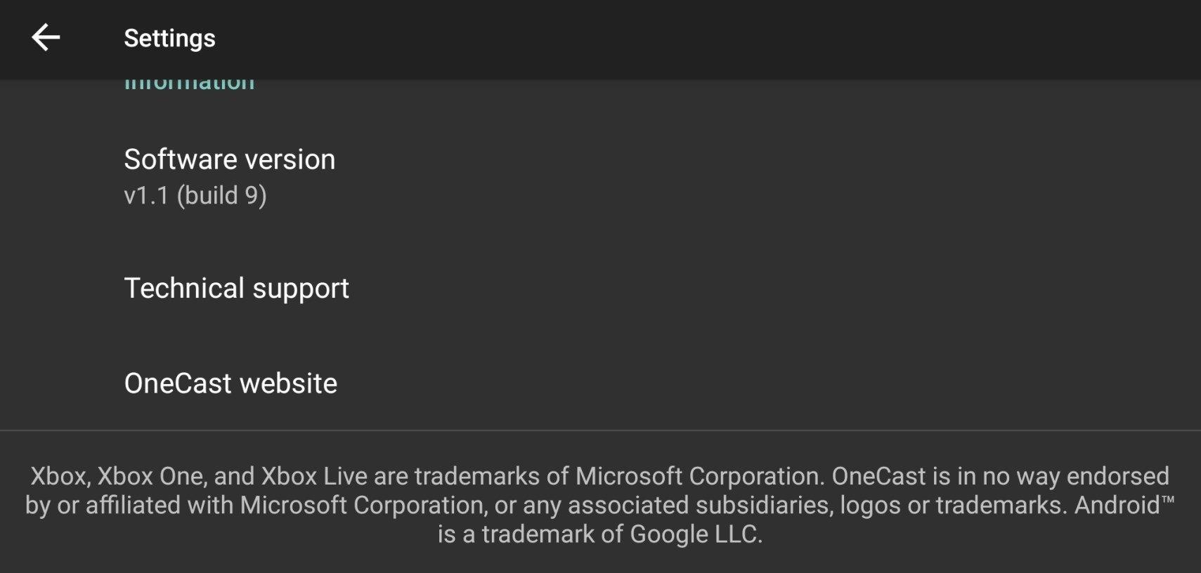 Onecast 1 1 Descargar Para Android Apk Gratis
