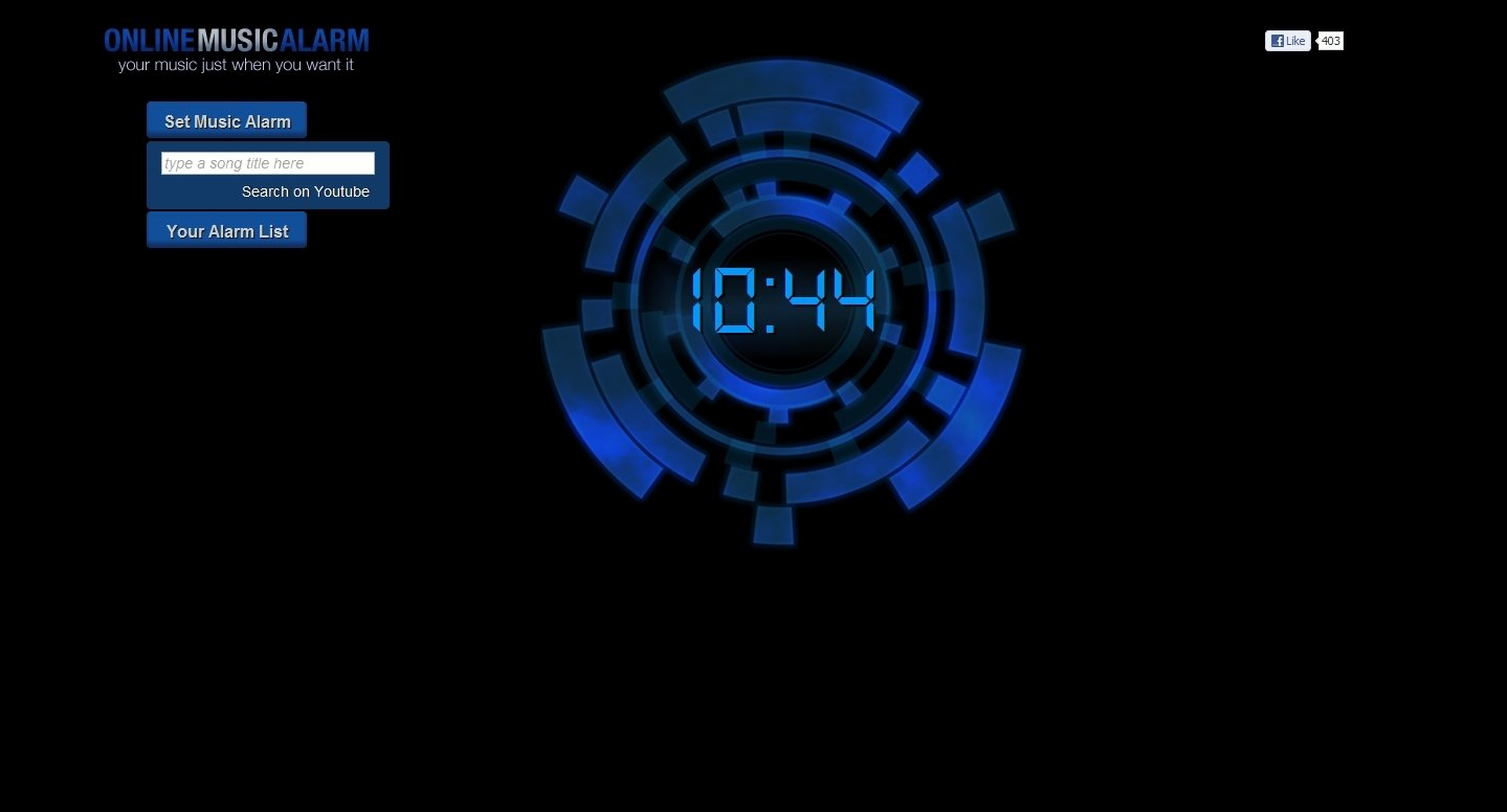 Online Music Alarm Webapps image 5